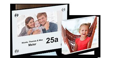 Dekorative Fotogeschenke für Ihr zu Hause können Sie schnell und einfach bei uns online gestalten.