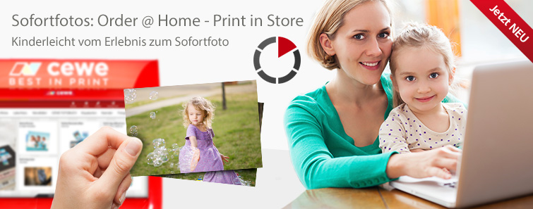 Sofortfotos: Order at Home