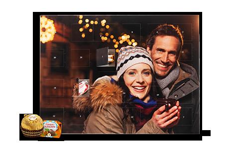Foto-Adventskalender mit Schokolade oder Ihren Fotos