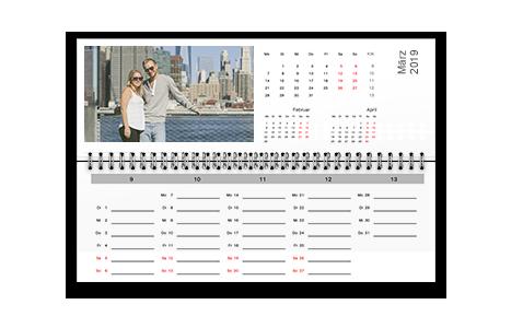 Tischkalender, Schüleragenda und Terminplaner