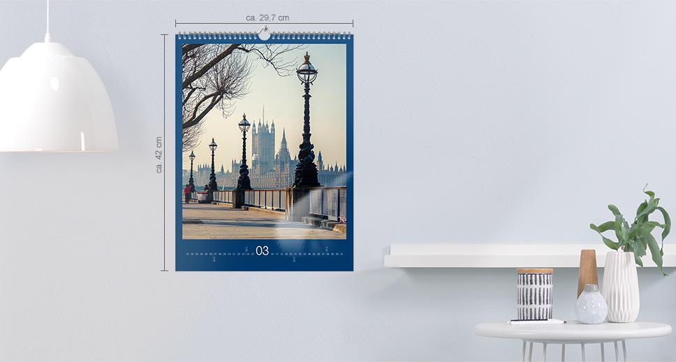 Wandkalender A3 Hochformat
