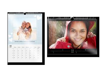 Nástenný kalendár A3 na lesklom papieri