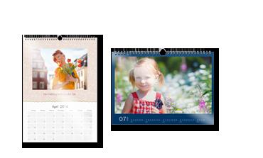 Nástenný kalendár A4 na lesklom papieri