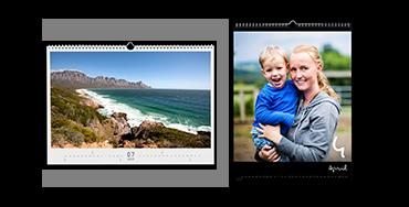 Väggkalender i A3-format