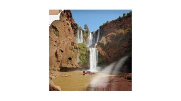 Ausflug zum Wasserfall