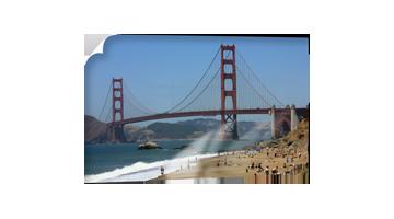 Spiaggia del Golden Gate