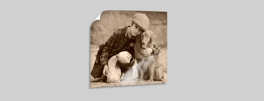 Tatjana Cordts Junge mit Hund