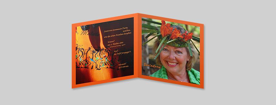 Christine Klima - Einladung
