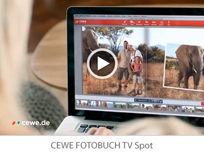 CEWE FOTOBUCH TV Spot - Video abspielen