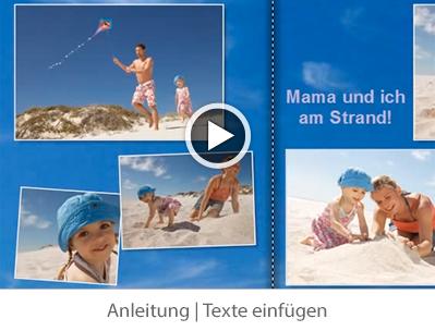 Anleitung: Texte einfügen - Video abspielen