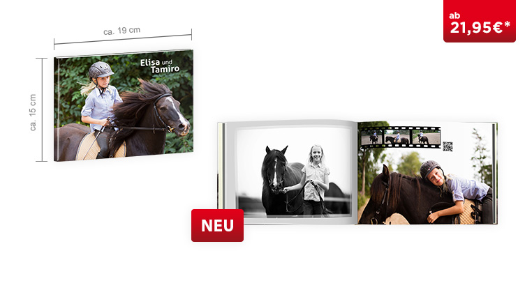 CEWE FOTOBUCH Compact Panorama: Digitaldruck Premium-Matt