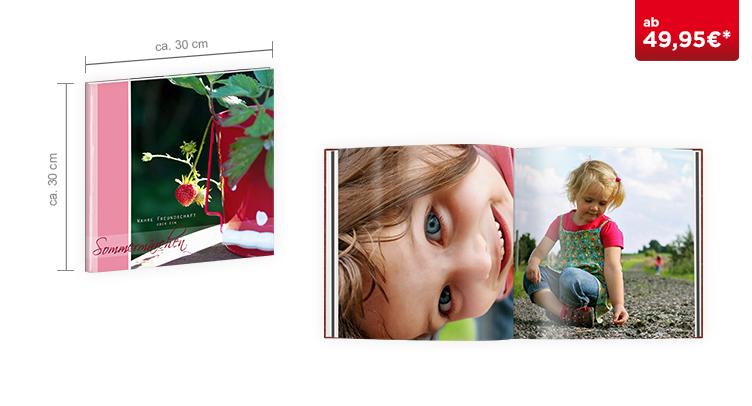 CEWE FOTOBUCH XL: Mit Hochglanz-Veredelung