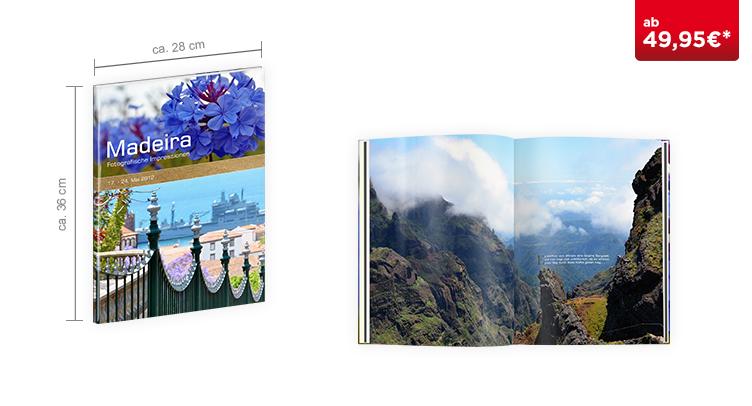 CEWE FOTOBUCH XXL Hochformat: Hardcover-Einband