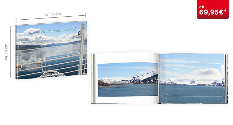 CEWE FOTOBUCH XLL Panorama: Digitaldruck Premium-Matt