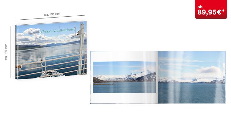 CEWE FOTOBUCH XXL: auf Fotopapier glänzend