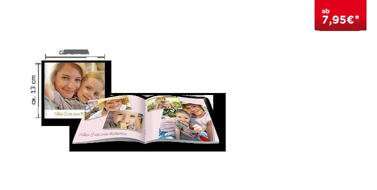 Fotobuch Klein mit Heftbindung