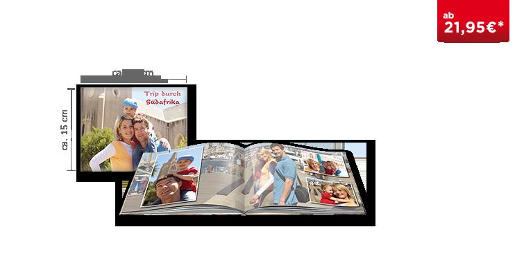 Fotobuch Compact Panorama digitaler Druck mit Hochglanz