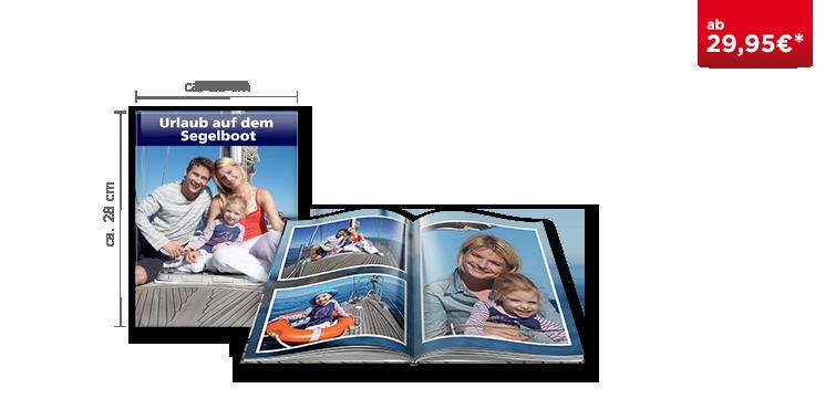 Fotobuch Groß mit Hochglanz Beschichtung