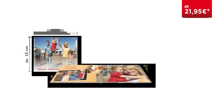 Fotobuch Compact Panorama auf mattem Fotopapier