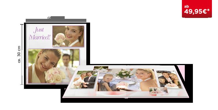 Fotobuch XL auf seidenmattem Fotopapier