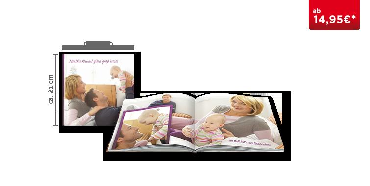 Fotobuch Quadratisch im festem Einband