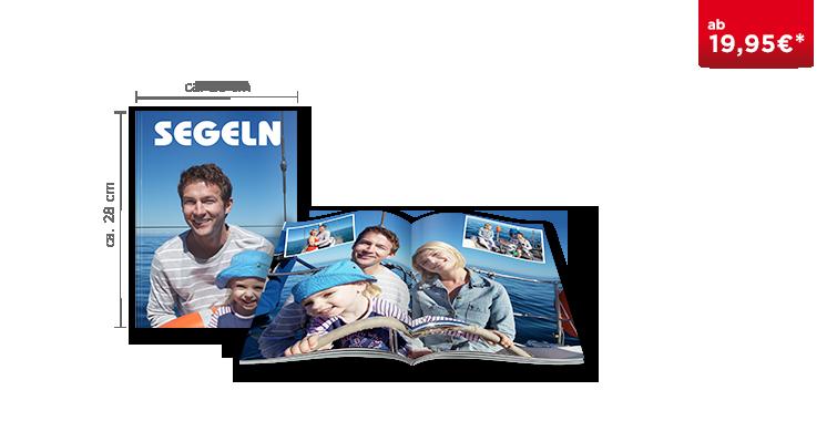 Fotobuch Groß: Softcover-Einband