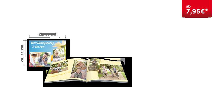 Das Fotobuch Mini im Softcover