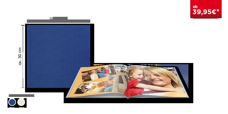 Fotobuch XL in Premiumleinen gebunden