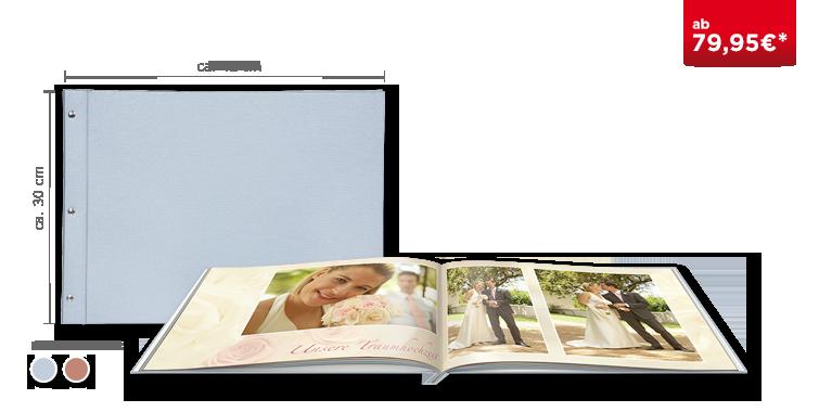 Fotobuch XXL im Premiumleinen Einband