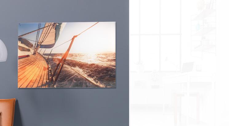 Foto za akrylovým sklem (fotopapír)