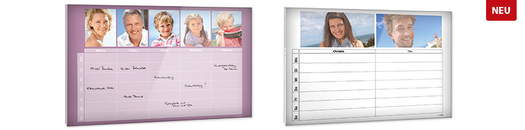 CALENDARIO FAMILY IN PLEXIGLASS