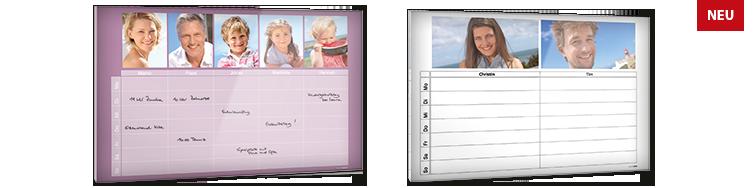 Calendario Family in Plexiglas