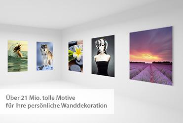 Motivgalerie: Über 21 Millionen tolle Motive für Ihre persönliche Wanddekoration