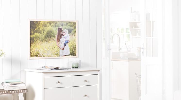Kašírovaný foto-plagát v ráme