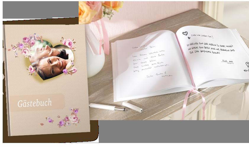 Das Notizbuch als Gästebuch