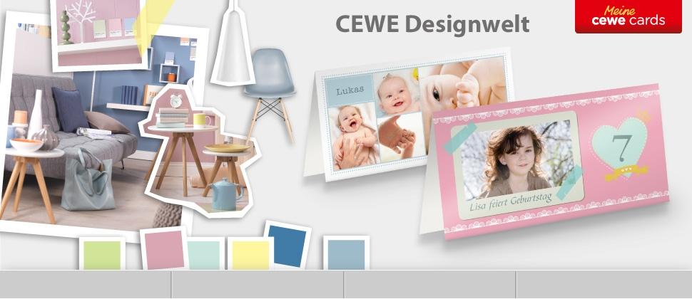 CEWE Designwelt  für Ihre CEWE CARDS