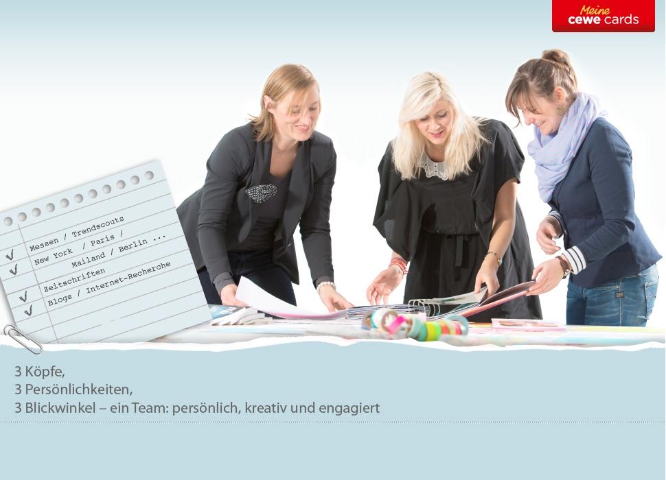 Das CEWE Designteam