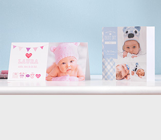 Babykarten gestalten