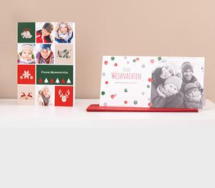Zaprojektuj fotokartki na Boże Narodzenie