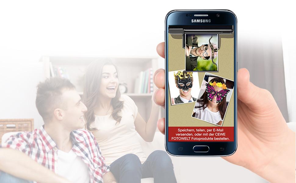 4. Bilder mit Freunden teilen