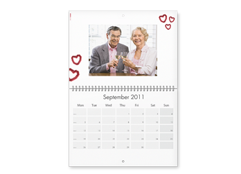 A2 WALL APPOINTMENT CALENDAR