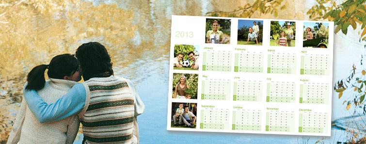16 x 12 Calendar Poster