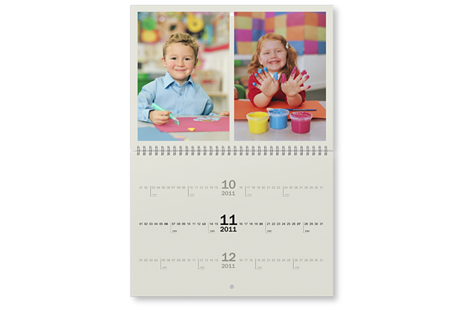 A3 wall appointment calendar