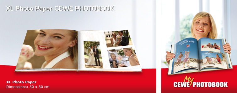 CEWE PHOTOBOOK on Photo Paper