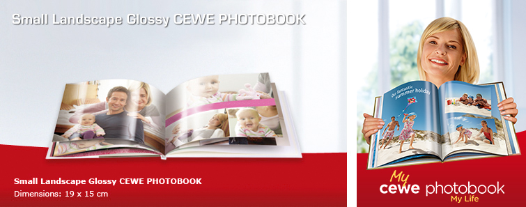 Small Landscape Glossy Photo Book