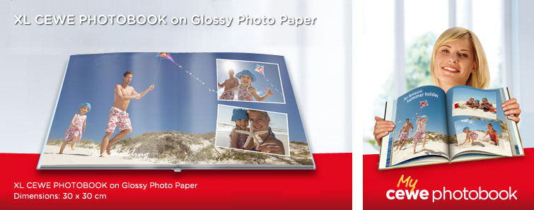 CEWE PHOTOBOOK on Glossy Photo Paper