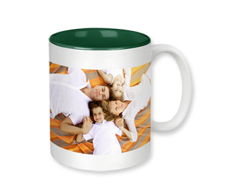 PRODUCT DETAILS: PHOTO MUG WITH COLOURED INTERIOR
