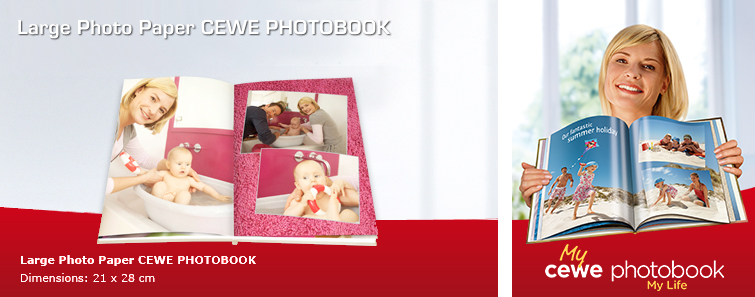 Large Photo Paper CEWE PHOTOBOOK