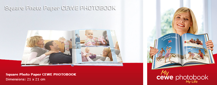 CEWE PHOTOBOOK on Photo Paper