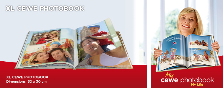 PHOTO BOOK XL with Travel Image